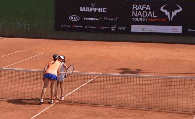 Dos jugadoras de la sexta etapa del Torneo